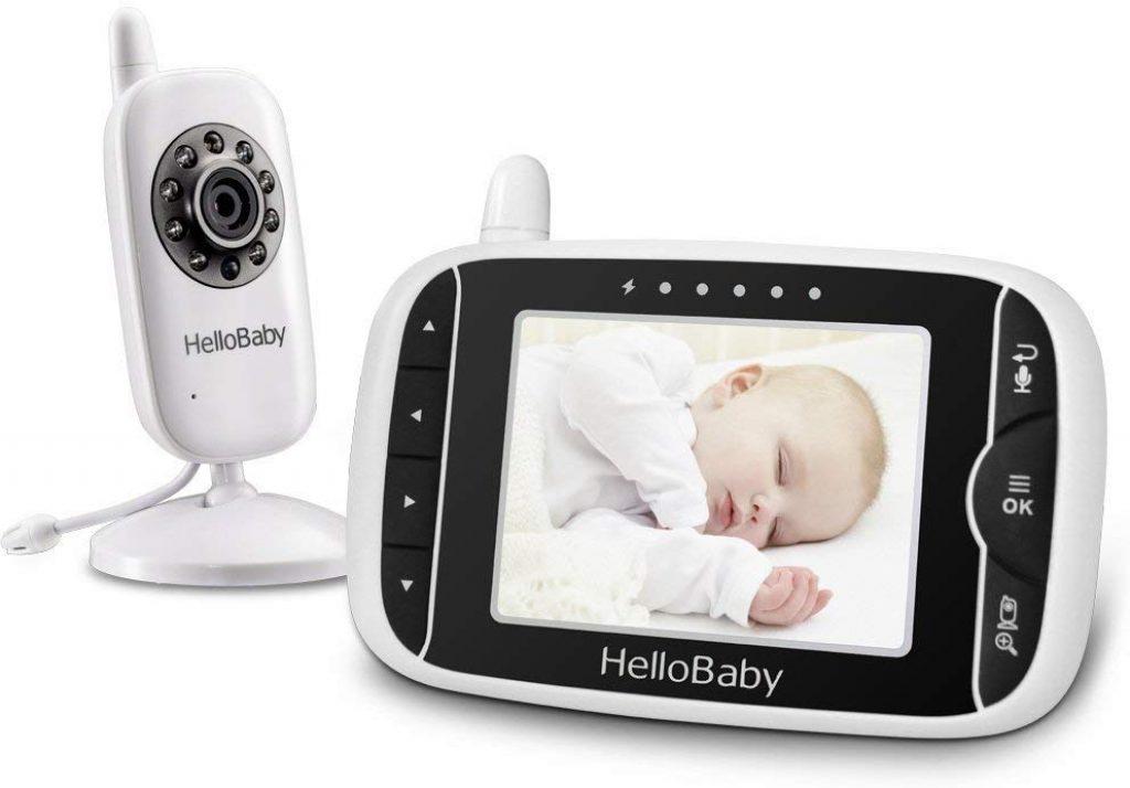 La babyphone Hellobaby HB32 dispose de 8 berceuses intégrées.