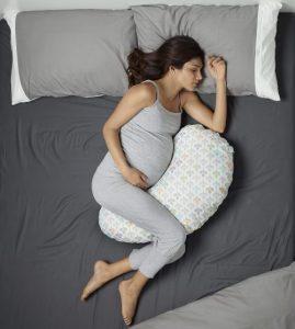 Le coussin de grossesse ou coussin d'allaitement