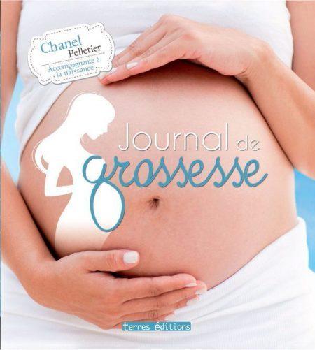 Le journal de grossesse de terres éditions pour suivre chaque instant de votre grossesse !