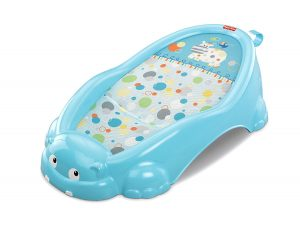 Fisher price Hippo Rigolo transat de bain bébé bleu
