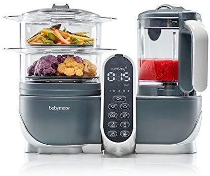 Le nutribaby plus est un robot de cuisine 5 en 1 pour cuisiner de bons petits plats pour bébé et toute la famille.