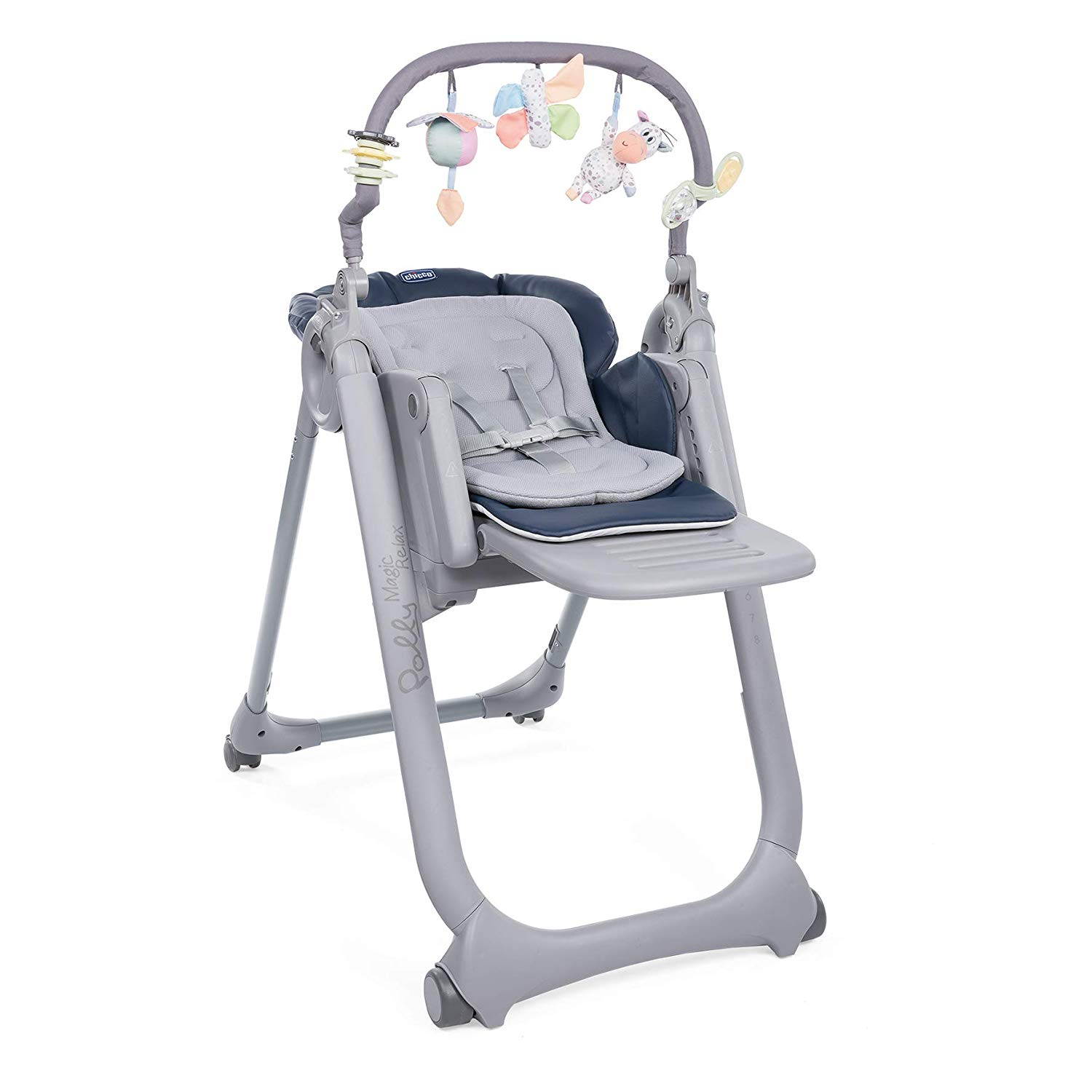 La chaise haute Chicco Polly Magic est une chaise haute 3 en 1.