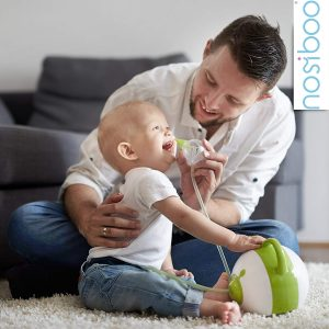 Le Nosiboo Pro est un mouche bébé électronique.