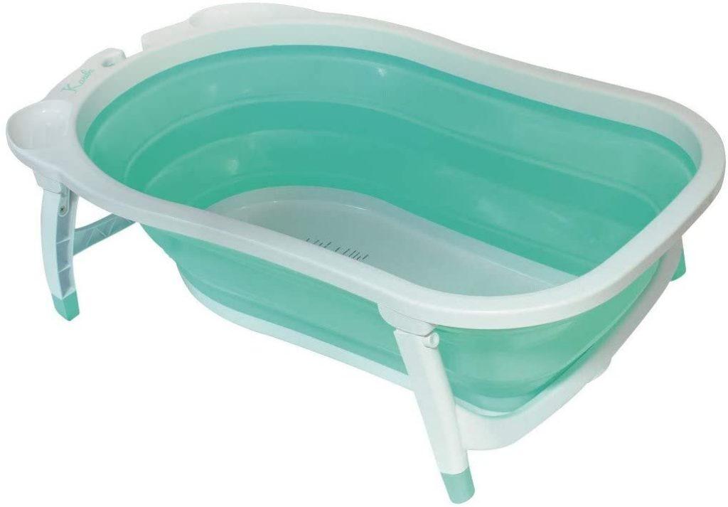 La baignoire bébé pliable Babysun a une couleur mixte.