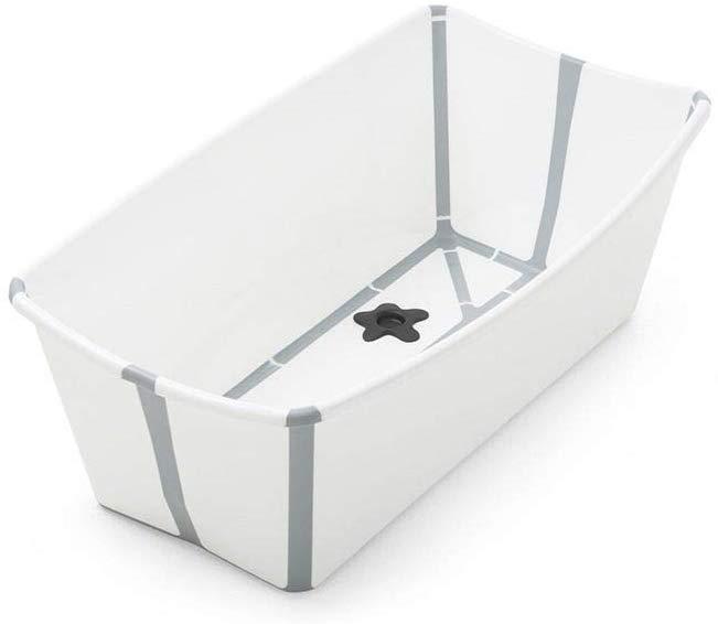 La baignoire Stokke est très compact.