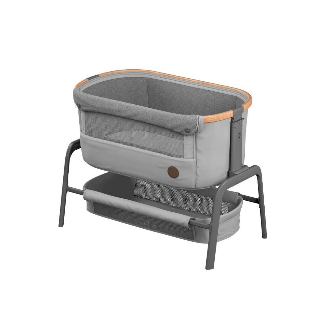 Le berceau cododo Bébé Confort Iora peut d'utiliser de la naissance à 9 kilos.