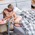 Le lit cododo Kinderkraft Neste est idéal pour pratiquer le cododo.