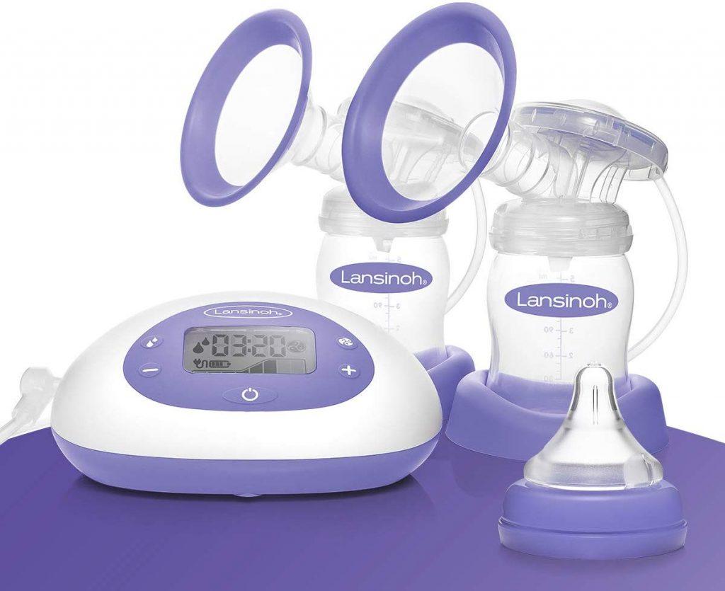 Le tire-lait Lansinoh double pompage ne contient pas de BPA;