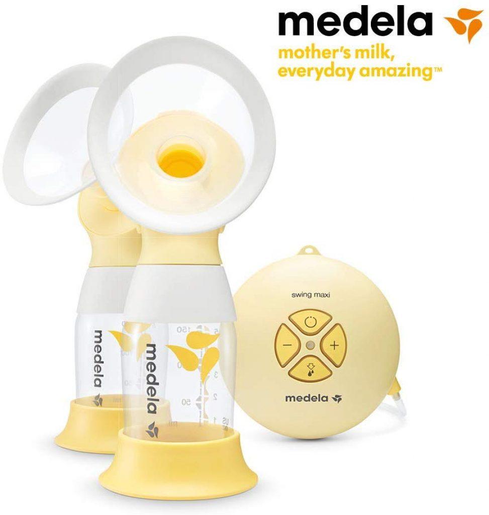 Le tire lait Medela double pompage est facile à utiliser.