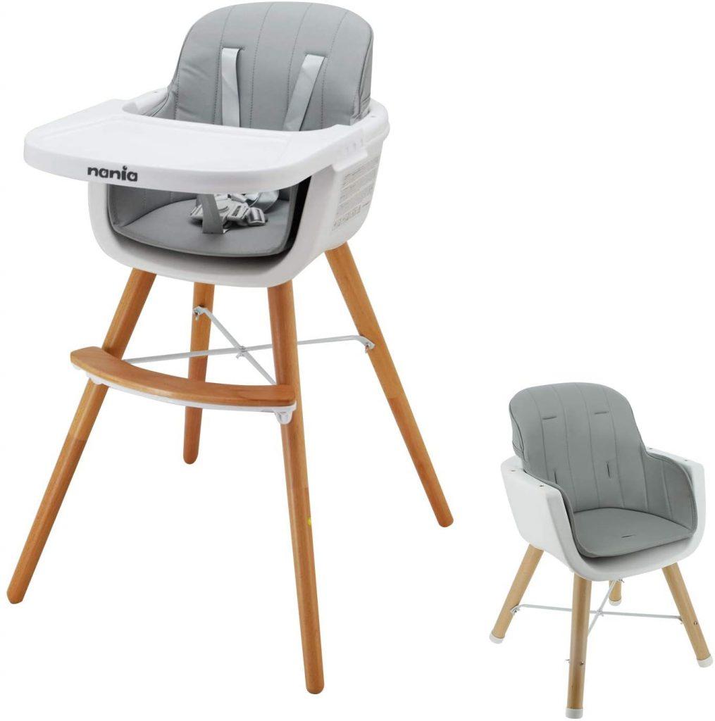 Chaise haute en bois évolutive : comment la choisir ? - Blog bébé
