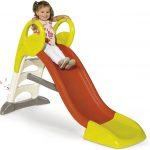 Le toboggan pour enfant Smoby KS dispose de 1,5 mètres de glisse.