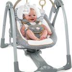 La balancelle bébé Ingenuity Swing and Go se plie aisément.