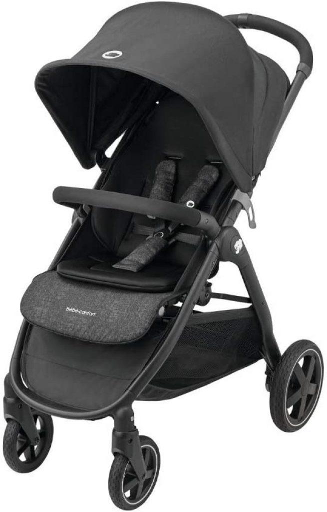 La poussette pour bébé Gia s'utilise jusqu'à 4 ans.