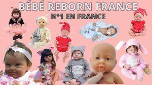 Bébé Reborn France, la plus large gamme de bébé reborn fille et garçon