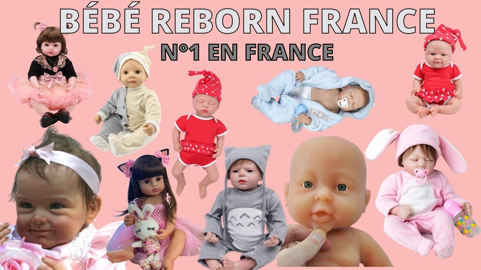 La boutique Bébé Reborn France propose un large choix de poupées.