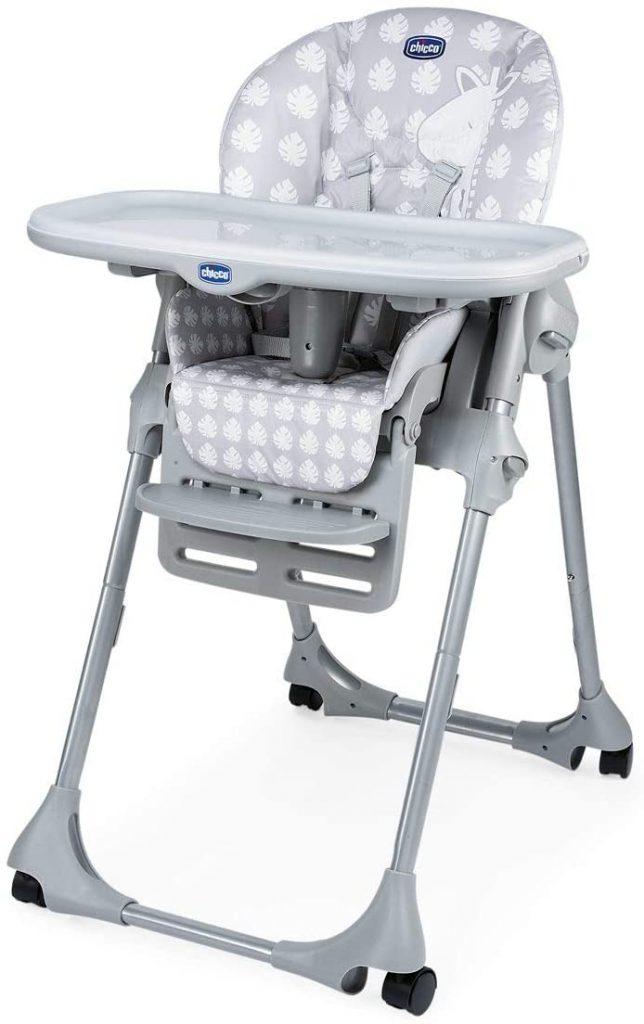 La chaise haute Polly Easy convient pour une utilisation dès 6 mois.