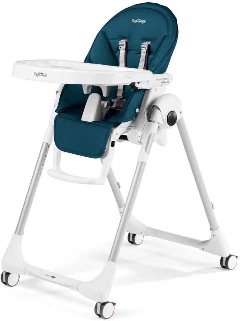 La hauteur de la chaise haute Zero3 est réglable.