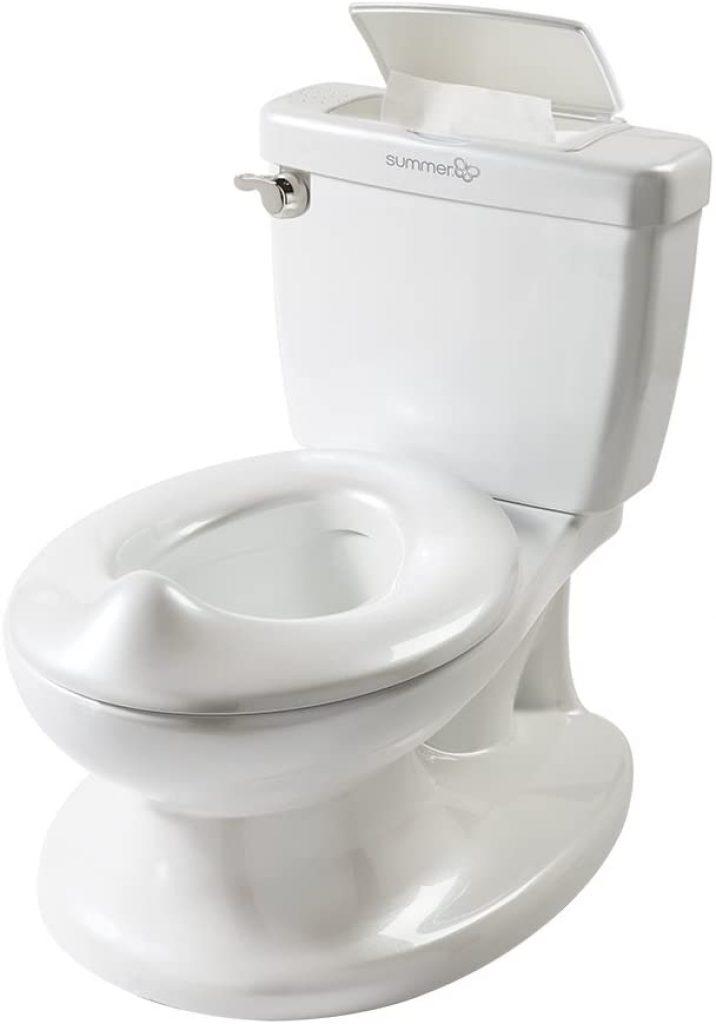 Le pot enfant Summer Infant ressemble à un vrai WC.