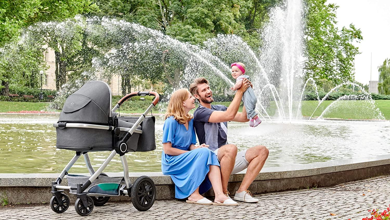 La poussette Kinderkraft VEO est une poussette trio.