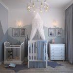 La décoration de la chambre de bébé est importante pour qu'il s'y sente bien.