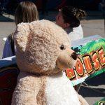 La peluche géante est adorée des enfants !
