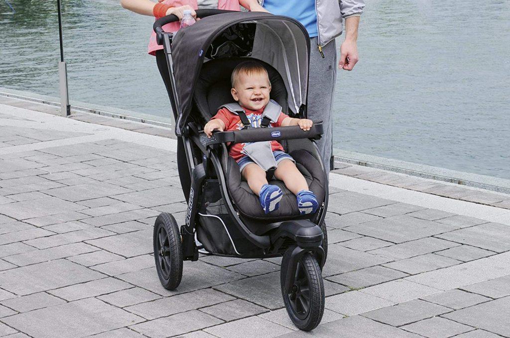 La poussette à 3 roues Activ3 est confortable.