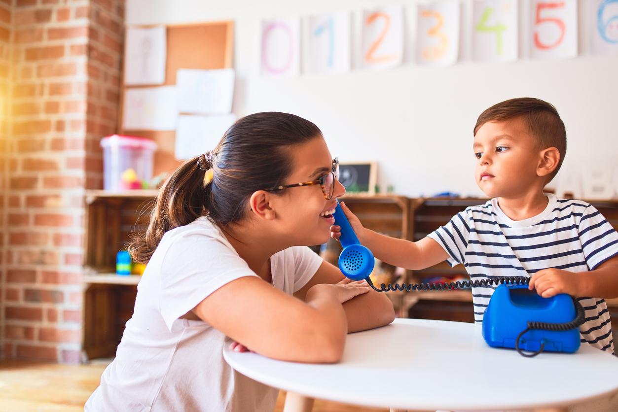 En créche votre enfant va apprendre le respect mutuel.