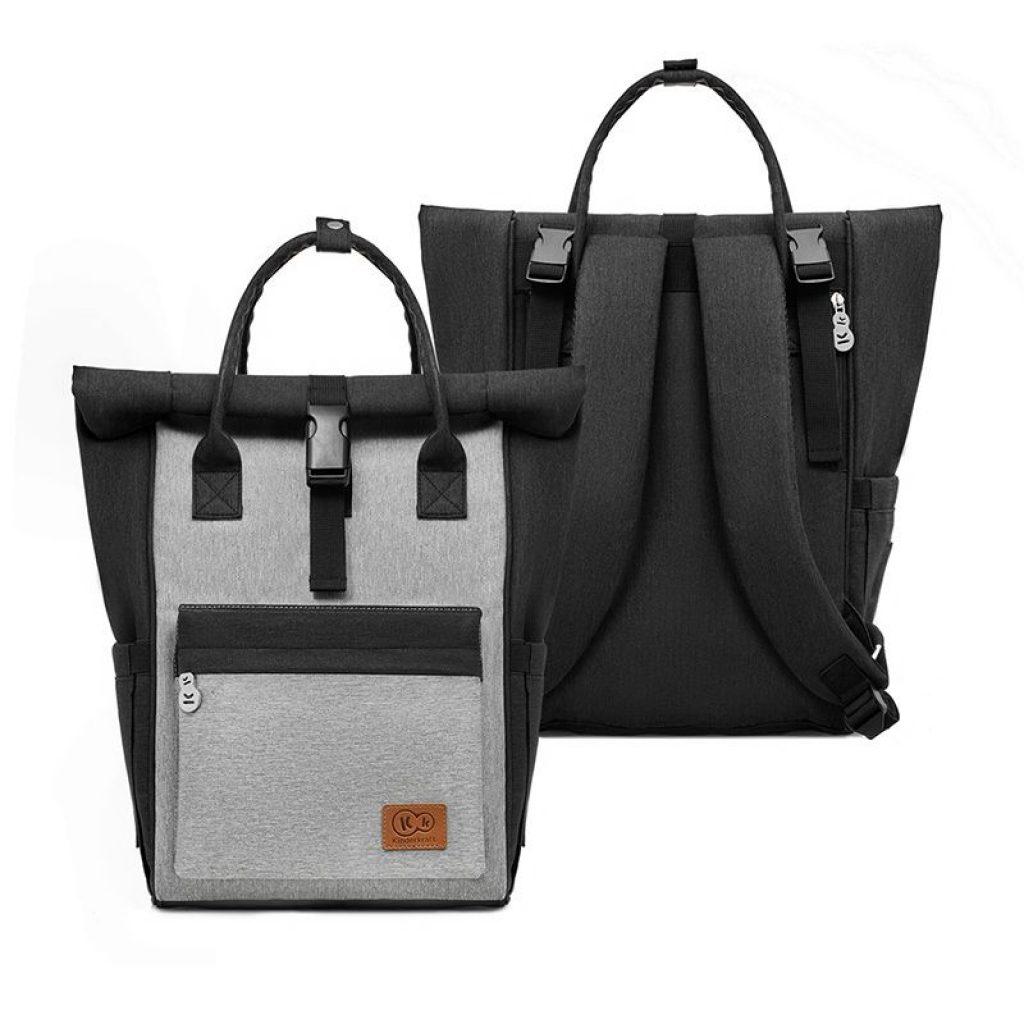 Le sac à dos à langer MOONPACK de Kinderkraft est parfait pour vos balades avec bébé.