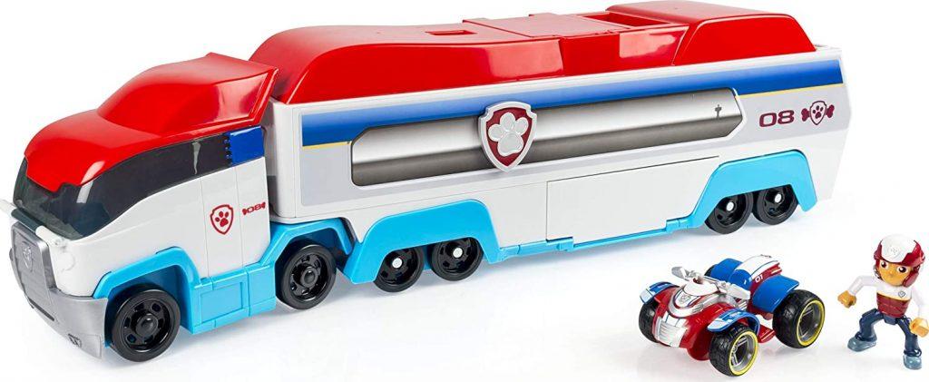 Ce camion Pat Patrouilleur est livré avec Ryder et son véhicule.