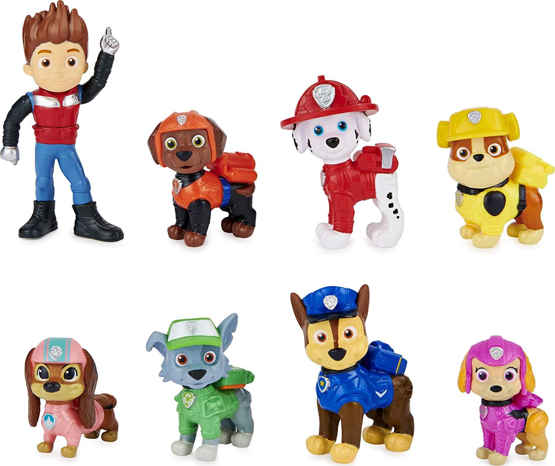 Une figurine pat patrouille permet de développer l'imagination de votre enfant.