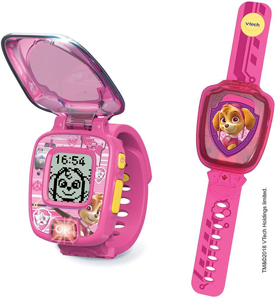 Cette montre de la Pat Patrouille à l'image de Stella est interactive.