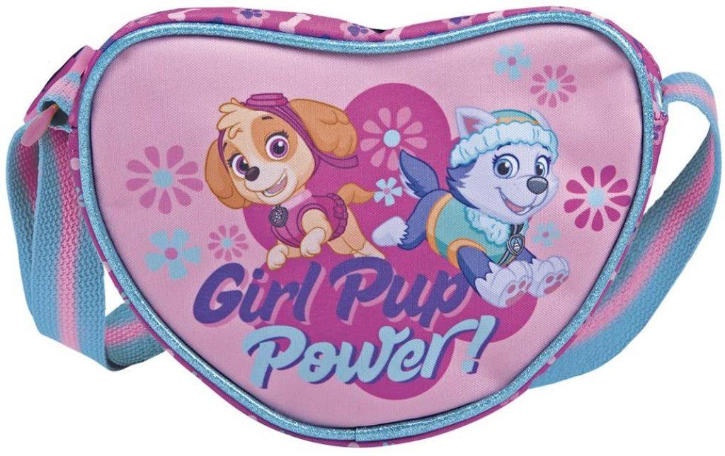 Ce sac de la Pat Patrouille est à bandouliére avec les personnages de Stella et Everest.
