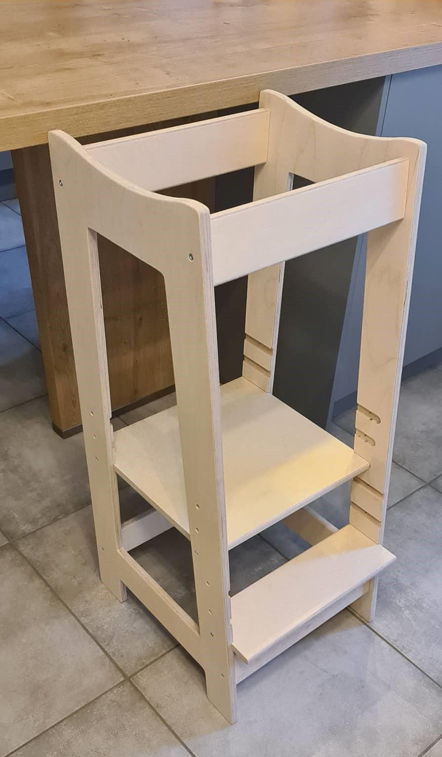 La tour d'apprentissage RoyauT propose 3 niveaux de hauteur pour sa plate-forme.