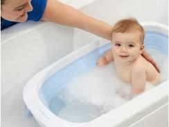Baignoire bébé pliable : les meilleurs modèles