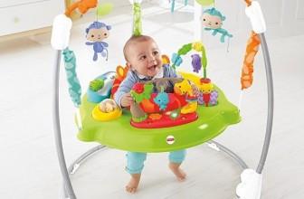 Jumperoo Jungle: le sauteur bébé multi-activités