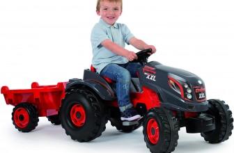Tracteur pour enfant à pédales ou électrique : nos coups de coeur